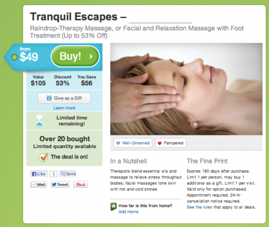 Pros and Cons of Groupon and LivingSocial Deals for Massage