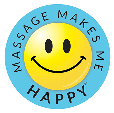 Massage Makes Me Happy Day