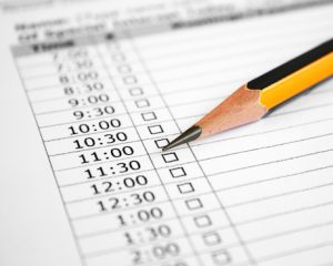 3 Ways to Fill the Holes in Your Schedule
